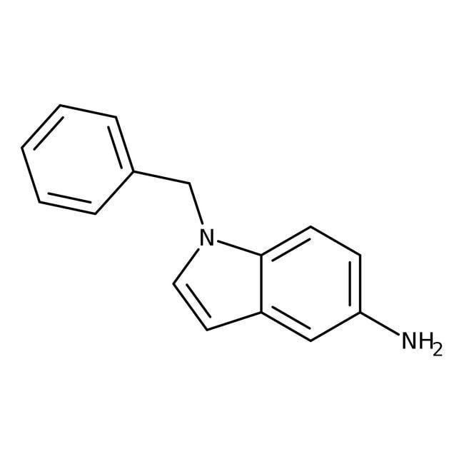 1-Benzyl-1H-indol-5-ylamine, 97%, Maybridge Amber Glass Bottle; 1g 1-Benzyl-1H-indol-5-ylamine, 97%, Maybridge