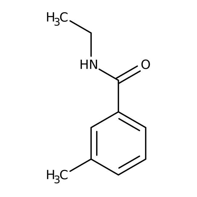 Alfa Aesar™N-Ethyl-3-Methylbenzamid, 97% 250mg Alfa Aesar™N-Ethyl-3-Methylbenzamid, 97%