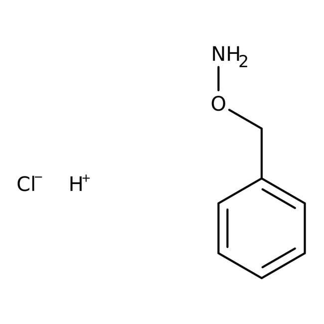 O-Benzylhydroxylamine Hydrochloride, 99%, ACROS Organics™ 100g; Glass bottle O-Benzylhydroxylamine Hydrochloride, 99%, ACROS Organics™