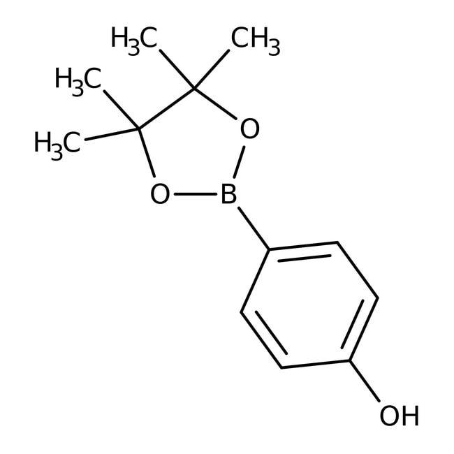 4-(4,4,5,5-Tetramethyl-1,3,2-dioxaborolan-2-yl)phenol, 97%, ACROS Organics™