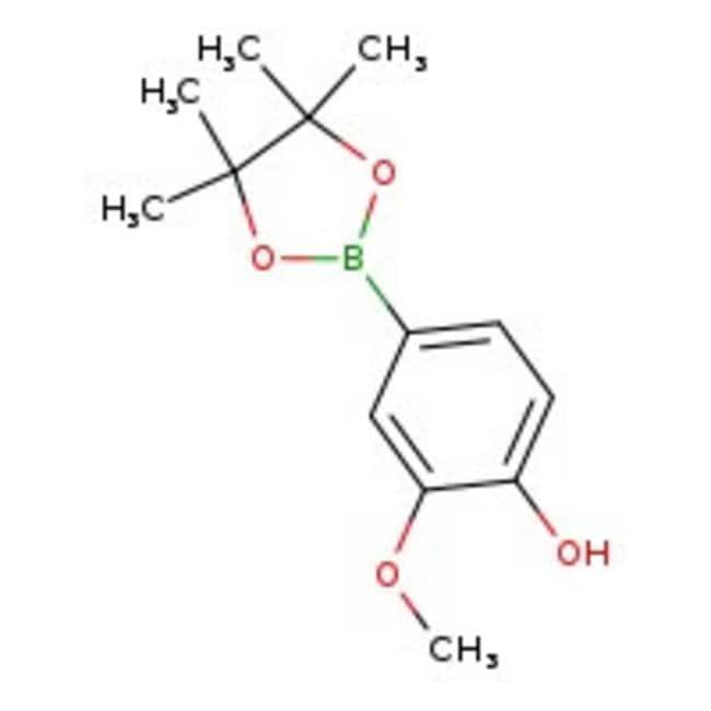 2-Methoxy-4-(4,4,5,5-tetramethyl-1,3,2-dioxaborolan-2-yl)phenol, 97%, ACROS Organics