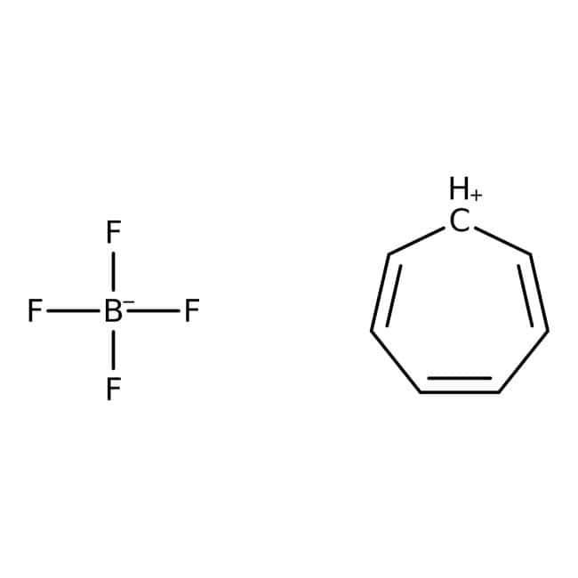 Alfa Aesar™ Tropylium tetrafluoroborate, 97%: Organic Compounds Chemicals