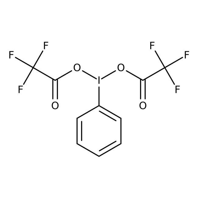 [Bis(trifluoroacetoxy)iodo]benzene, 98%, ACROS Organics™