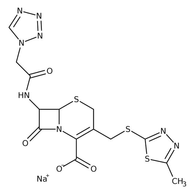 Cefazolin sodium salt, 98%, Acros Organics