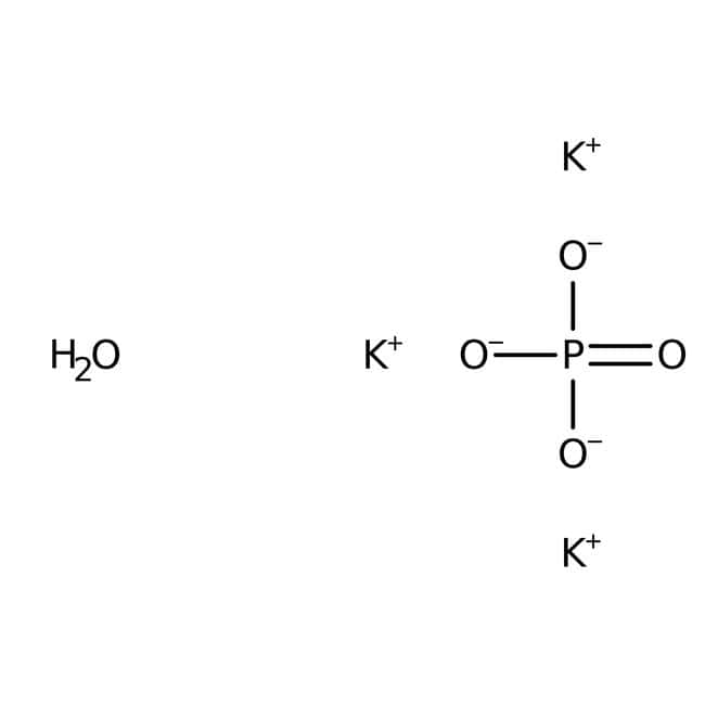 Potassium phosphate, tribasic monohydrate, 96%, extra pure, ACROS Organics™: Other Inorganic Compounds Chemicals