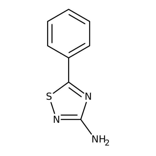 Alfa Aesar™3-Amino-5-phenyl-1,2,4-thiadiazole, 96% 1g Alfa Aesar™3-Amino-5-phenyl-1,2,4-thiadiazole, 96%