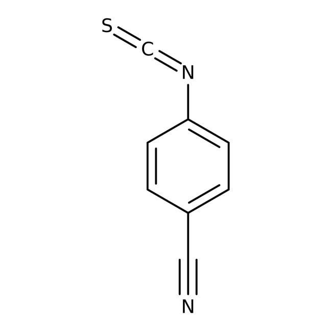 4-Isothiocyanatobenzonitrile, 97%, Maybridge