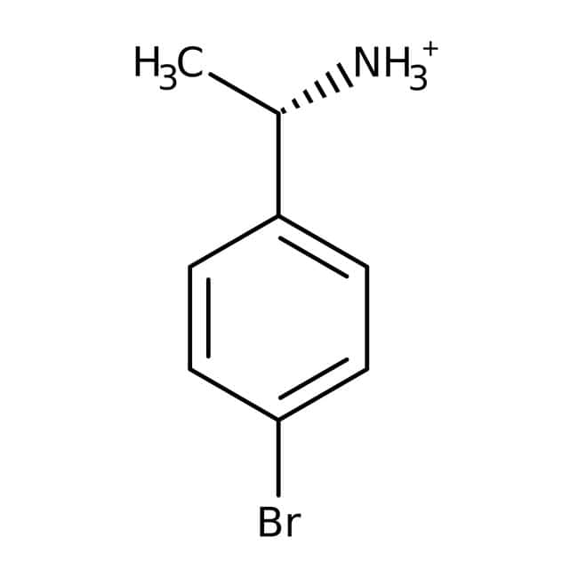 Alfa Aesar™ (S)-(-)-1-(4-Bromphenyl)ethylamin, ChiPros, 99 %, ee 98 % 25 g Alfa Aesar™ (S)-(-)-1-(4-Bromphenyl)ethylamin, ChiPros, 99 %, ee 98 %