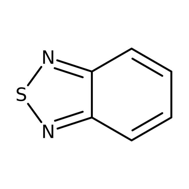 2,1,3-Benzothiadiazole, 98%, ACROS Organics™ 5g; Glass bottle 2,1,3-Benzothiadiazole, 98%, ACROS Organics™