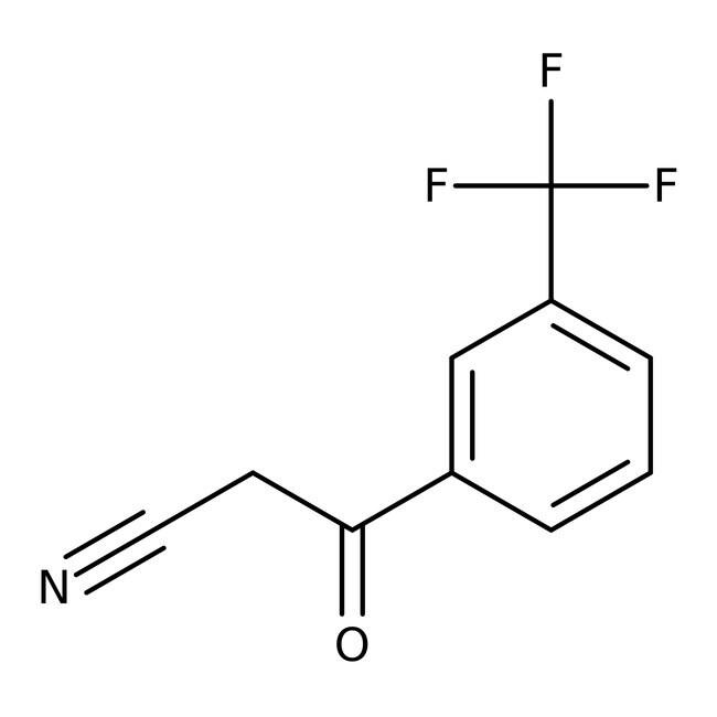 Alfa Aesar™3-(Trifluoromethyl)benzoylacetonitrile, 97% 5g Alfa Aesar™3-(Trifluoromethyl)benzoylacetonitrile, 97%