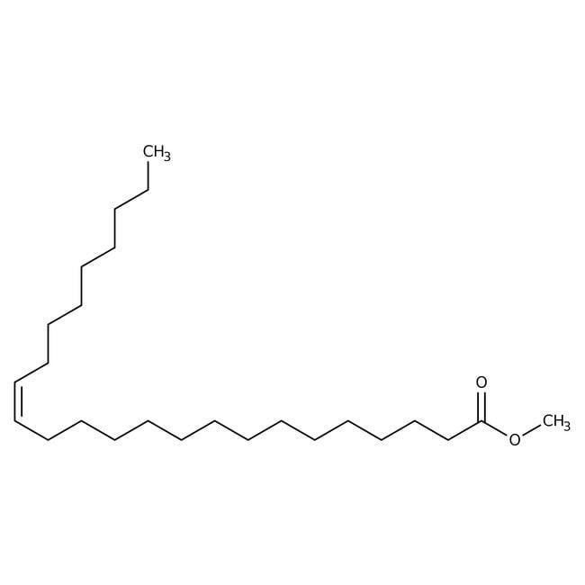 Methyl nervonate, 99%, analytical standard for GC, ACROS Organics™ 100mg Methyl nervonate, 99%, analytical standard for GC, ACROS Organics™