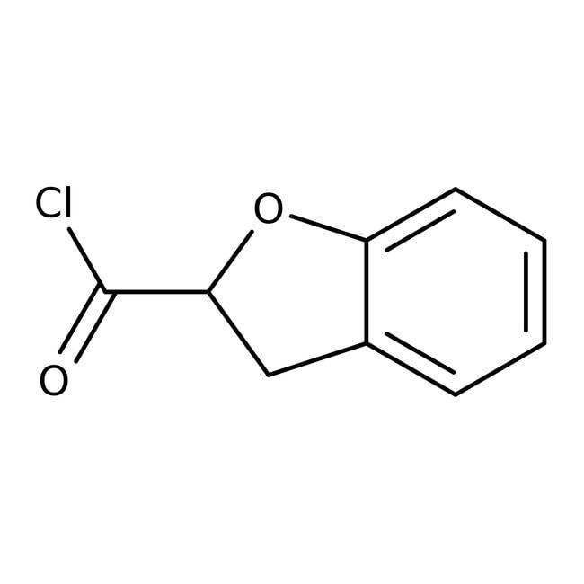 2,3-Dihydro-1-benzofuran-2-carbonyl chloride, 95%, Maybridge