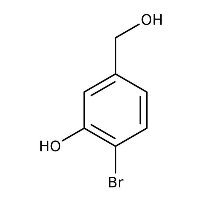 Alfa Aesar  4-Bromo-3-hydroxybenzyl alcohol, 95%