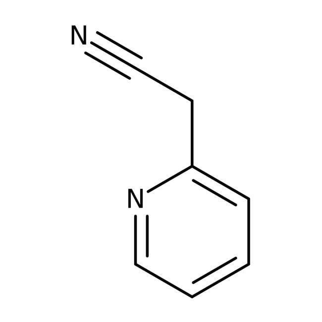 Alfa Aesar™2-Piridinacetonitrilo, 99 % 100g Alfa Aesar™2-Piridinacetonitrilo, 99 %