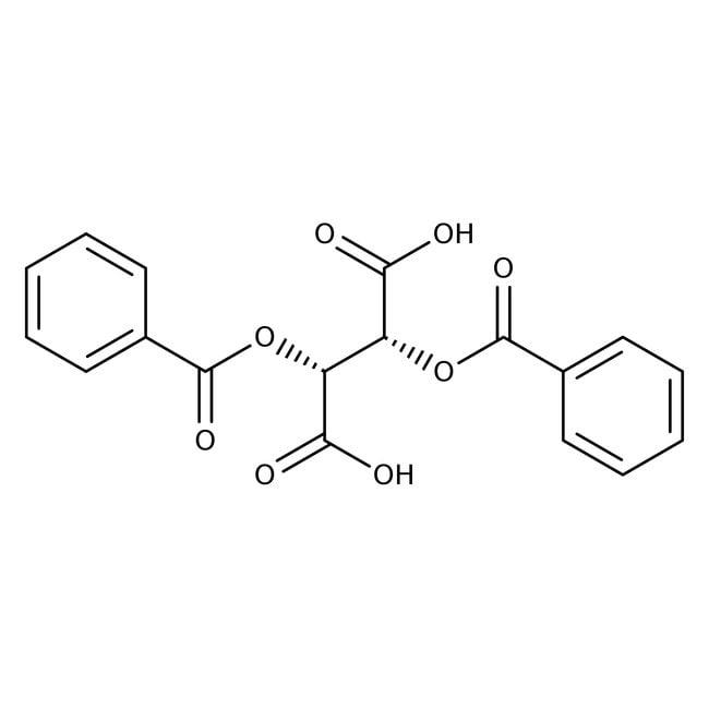 (-)-Dibenzoyl-L-tartaric acid, 98%, ACROS Organics™
