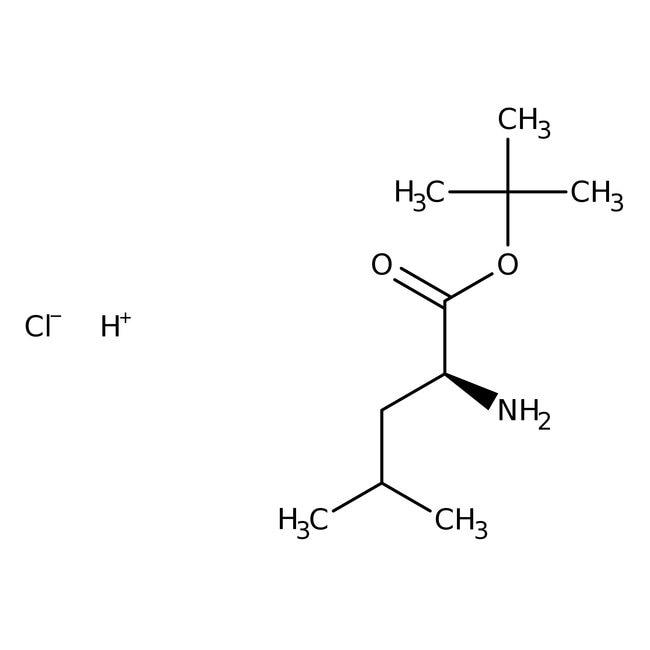 L-Leucine tert-Butyl Ester Hydrochloride 98.0+%, TCI America™