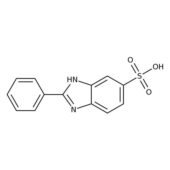 2-Phenylbenzimidazole-5-sulfonic acid, 98%, ACROS Organics™