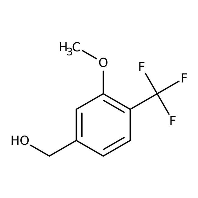 Alfa Aesar™3-Methoxy-4-(trifluoromethyl)benzyl alcohol, 97% 5g Alfa Aesar™3-Methoxy-4-(trifluoromethyl)benzyl alcohol, 97%