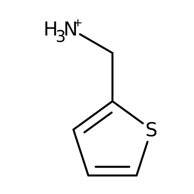 2-Thiophenemethylamine, 95%, ACROS Organics™ 100g; Glass bottle 2-Thiophenemethylamine, 95%, ACROS Organics™