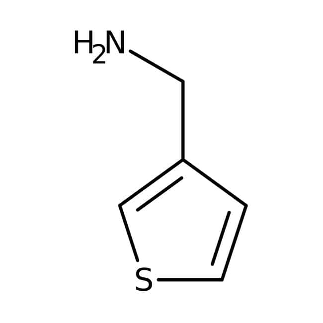 3-Thienylmethylamin, 97 %, Maybridge Braunglasflasche, 5 g 3-Thienylmethylamin, 97 %, Maybridge