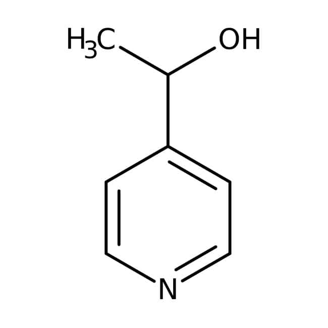 (R)-4-(1-Hydroxyethyl)pyridine, 99+%, (99+% ee), ACROS Organics™ 1g; Glass bottle (R)-4-(1-Hydroxyethyl)pyridine, 99+%, (99+% ee), ACROS Organics™