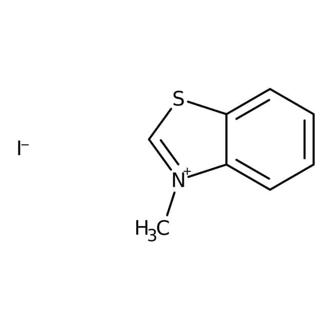 3-Methylbenzothiazolium Iodide 98.0 %, TCI America