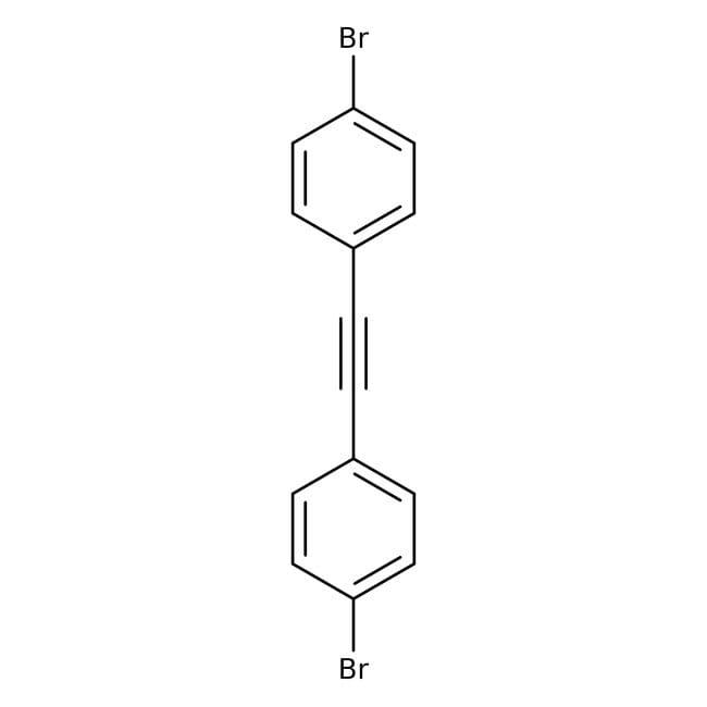 Bis(4-bromophenyl)acetylene, 97%, ACROS Organics