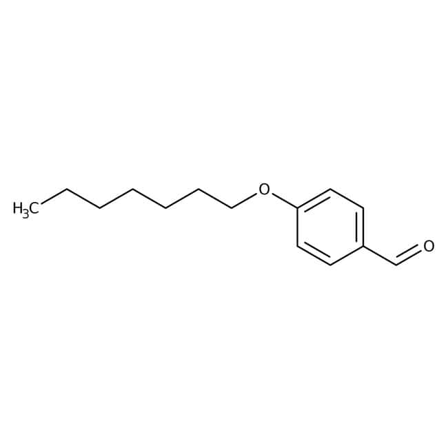 Alfa Aesar™4-n-Heptyloxybenzaldehyde, 97% 25g Alfa Aesar™4-n-Heptyloxybenzaldehyde, 97%
