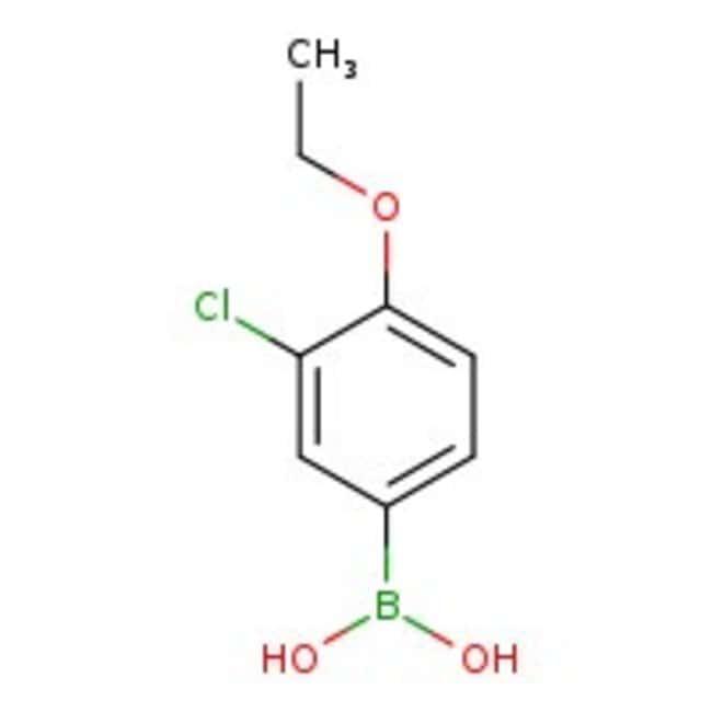 3-Chloro-4-ethoxyphenylboronic acid, 98%, Acros Organics™  3-Chloro-4-ethoxyphenylboronic acid, 98%, Acros Organics™