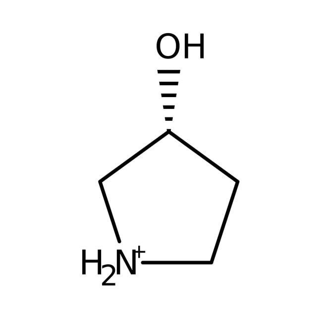 Alfa Aesar™(R)-(+)-3-Hydroxypyrrolidine, 99%, ee 99% 5g Alfa Aesar™(R)-(+)-3-Hydroxypyrrolidine, 99%, ee 99%