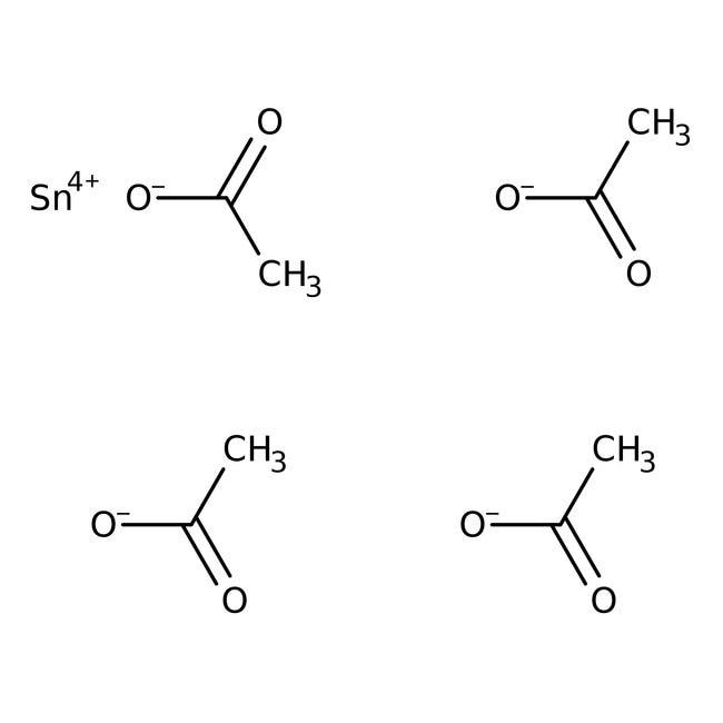 Zinn(IV)-acetat, 98%, ACROS Organics™ 1 g-Glasflasche Zinn(IV)-acetat, 98%, ACROS Organics™