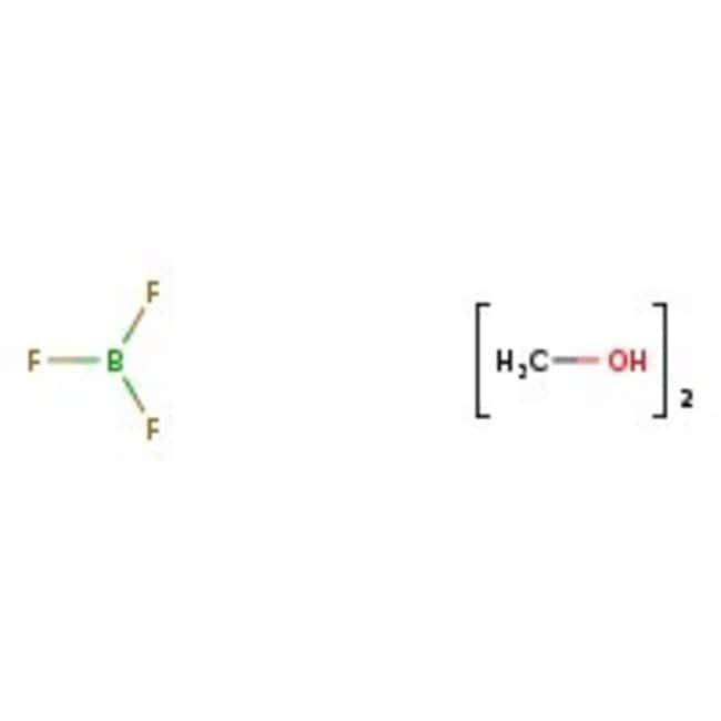 Boron trifluoride dimethanol complex, 50-52 wt% BF3, ACROS Organics™