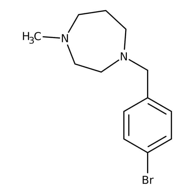 1-(4-Brombenzyl)-4-methylperhydro-1,4-diazepin, 97 %, Maybridge Braunglasflasche, 1 g 1-(4-Brombenzyl)-4-methylperhydro-1,4-diazepin, 97 %, Maybridge
