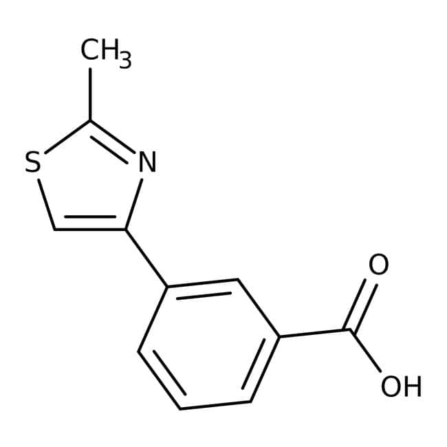 3-(2-Methyl-1,3-thiazol-4-yl)benzoic acid, 97%, Maybridge™