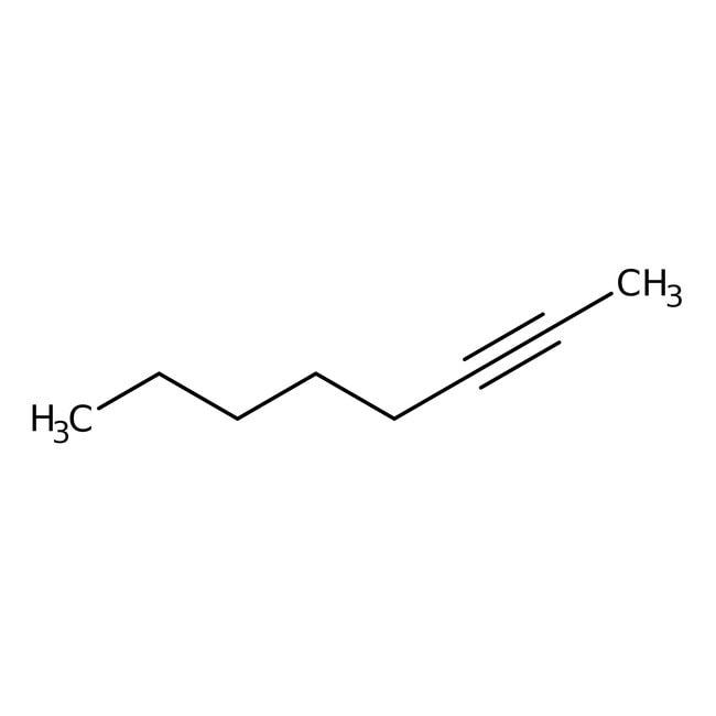 2-Octyne, 97%, stabilized, Acros Organics
