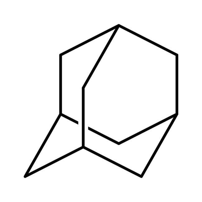 Adamantane, +99%, AcrosOrganics 100g; flacon en verre Adamantane, +99%, AcrosOrganics