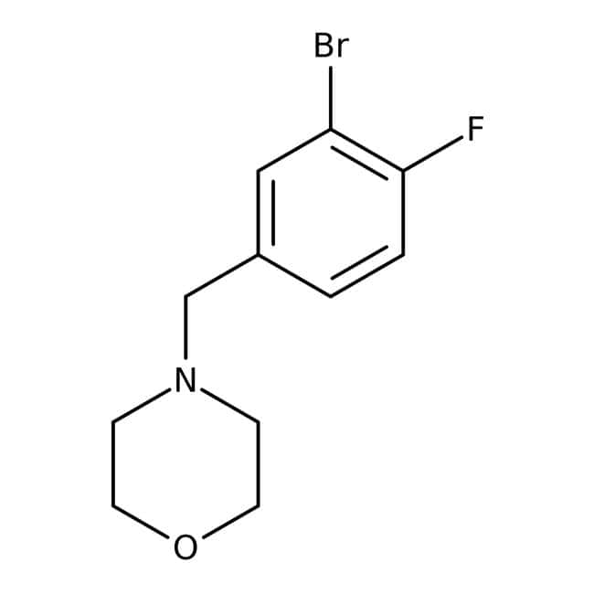 Alfa Aesar™4-(3-Bromo-4-fluorobenzyl)morpholine, 96%
