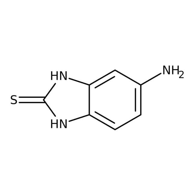 5-Amino-1H-benzimidazol-2-thiol, 97 %, Maybridge 1 g 5-Amino-1H-benzimidazol-2-thiol, 97 %, Maybridge