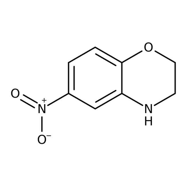 Alfa Aesar™6-Nitro-3,4-dihydro-2H-1,4-benzoxazin, 97% 250mg Alfa Aesar™6-Nitro-3,4-dihydro-2H-1,4-benzoxazin, 97%