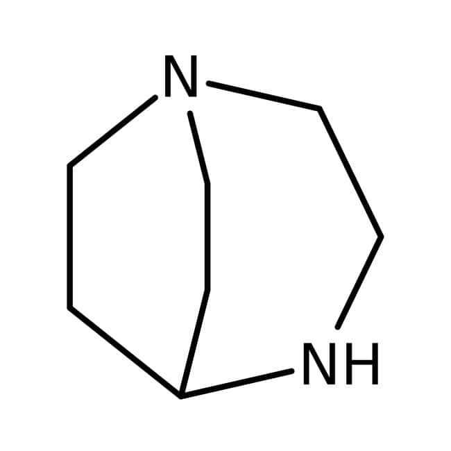 1,4-Diazabicyclo[3.2.2]nonane, 95%, ACROS Organics™ 5g; Glass bottle 1,4-Diazabicyclo[3.2.2]nonane, 95%, ACROS Organics™