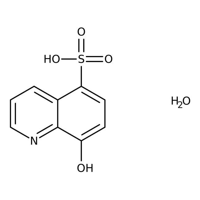 8-Hydroxyquinoline-5-sulfonic acid monohydrate, 98%, ACROS Organics™