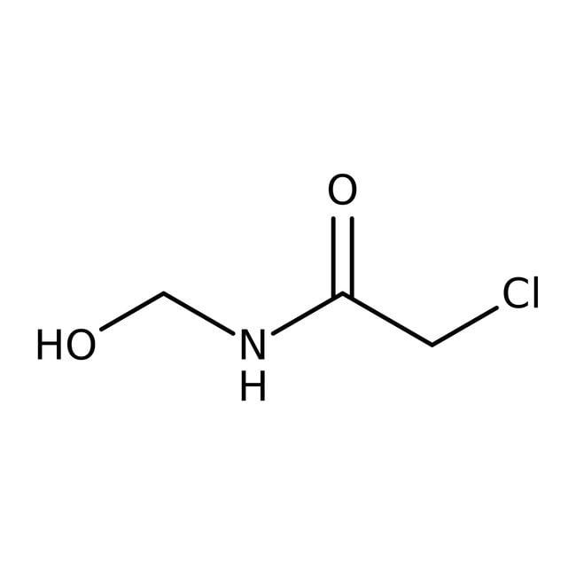 Alfa Aesar™2-Chloro-N-(hydroxymethyl)acetamide, 98% 50g Alfa Aesar™2-Chloro-N-(hydroxymethyl)acetamide, 98%