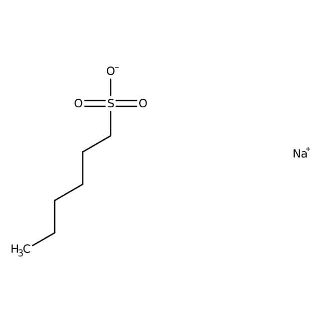 N 1 Hexanesulfonic Acid Sodium Salt Monohydrate Mp Biomedicals