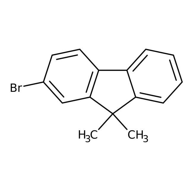 Alfa Aesar™2-Bromo-9,9-dimethylfluorene, 98% 100g Alfa Aesar™2-Bromo-9,9-dimethylfluorene, 98%