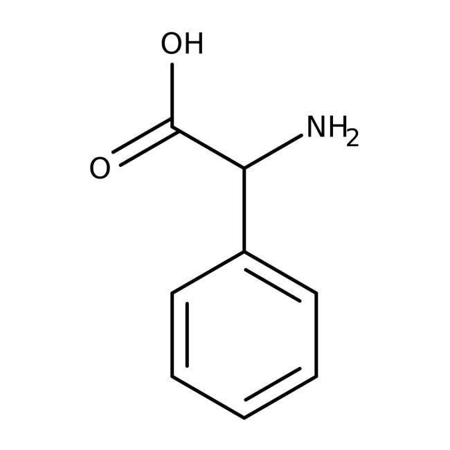 DL-α-Phenylglycine, 99%, ACROS Organics™ 100g; Plastic bottle DL-α-Phenylglycine, 99%, ACROS Organics™