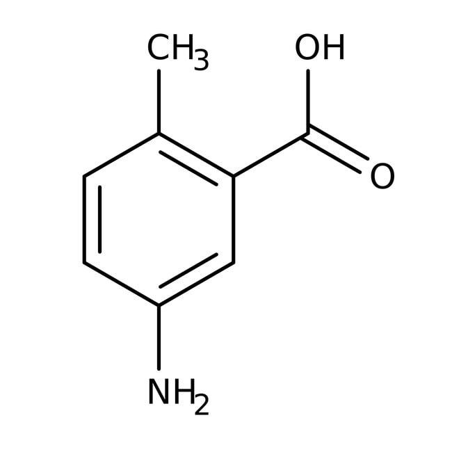 Alfa Aesar™5-Amino-2-Methylbenzoesäure, 97% 1g Alfa Aesar™5-Amino-2-Methylbenzoesäure, 97%