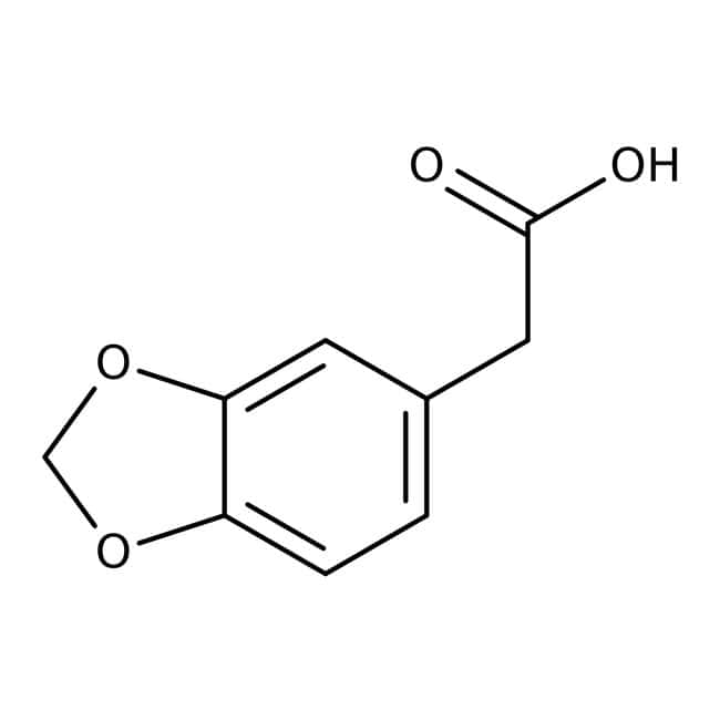 3,4-(Methylenedioxy)phenylacetic acid, 98.5+%, ACROS Organics™