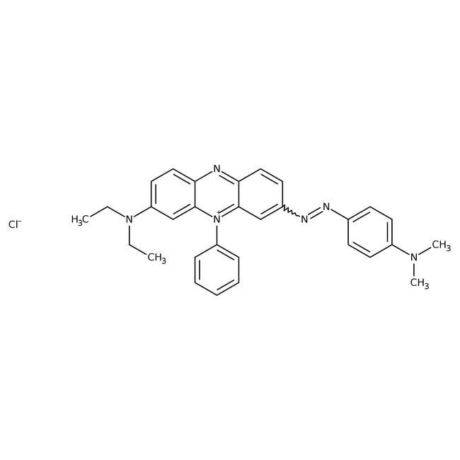 Janus Green B, pure, high purity biological stain, ACROS Organics