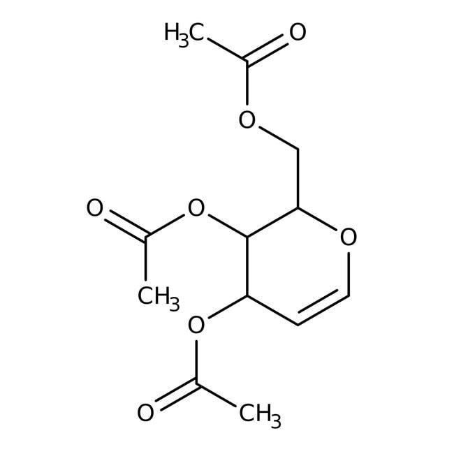 Tri-O-acetyl-D-glucal, 99%, ACROS Organics™ 25g; Glass bottle Tri-O-acetyl-D-glucal, 99%, ACROS Organics™