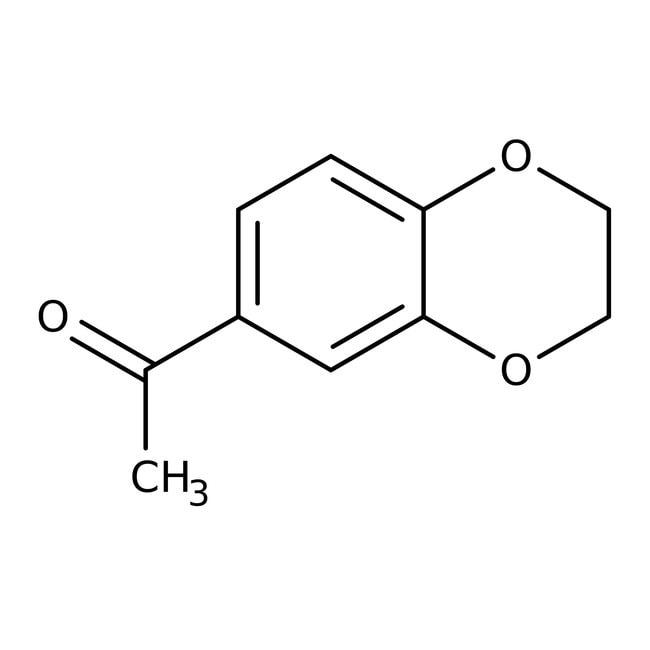 1,4-Benzodioxan-6-yl methyl ketone, 98%, Acros Organics